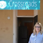 "An administrator at Crossroads for Women in Albuquerque, N.M., Pam Mulhall feels it is her duty to help women less fortunate than she was. Without help from her parents, she says, ""I could have ended up homeless."" PHOTO: AMANDA DOUGLAS"