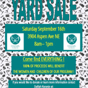 September 2017_Bi-Annual Yard Sale
