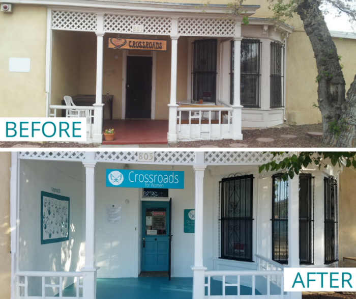 BEFORE & AFTER_Crossroads Renovation