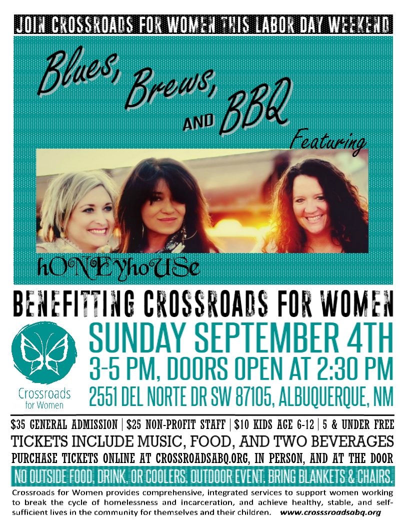 blues brews and bbq crossroads for women